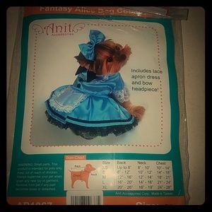 Alice in Wonderland Dog Dress